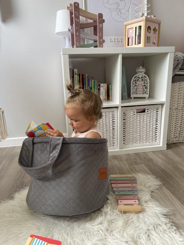 Boîte de rangement pour jouets d'enfants XL