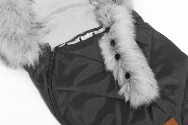 Gigoteuses Poussettes pour l'Hiver winter x-grey